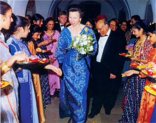 Princess Anne at Diwali of the Century Banquet